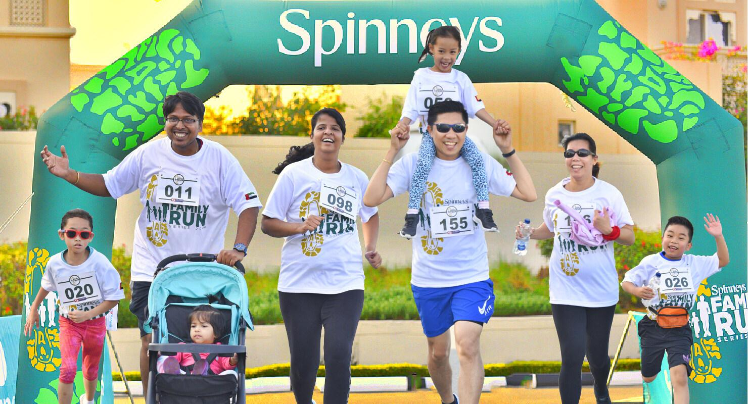 Spinneys Family Fun Run 7/7