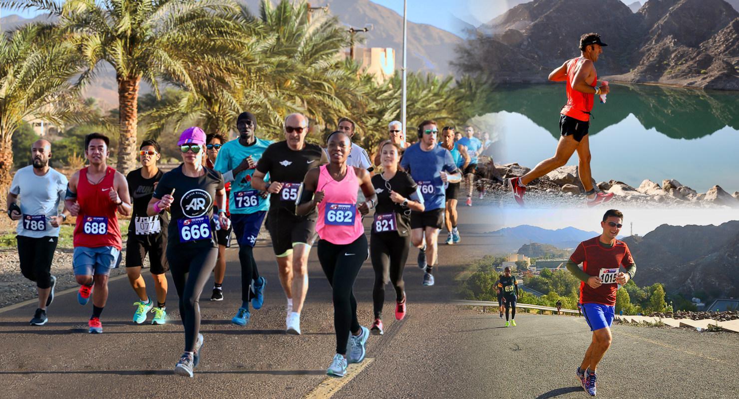Hatta Hills Run: 21.1km, 10km, 5km, 2.5km